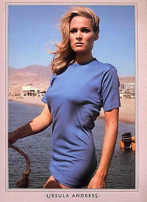 Ursula Andress Poster . Film Movie Actress . Dr. No Casino Royale . Not Dvd