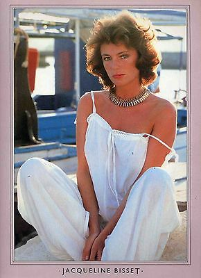 Jacqueline Bisset Poster . Film Movie Actress . The Deep The Detective . Not Dvd