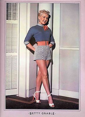 Betty Grable Poster . Film Movie Actress . How To Marry A Millionaire .not Dvd