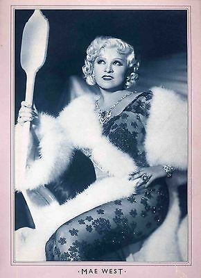 Mae West Poster . Film Movie Actress. I'm No Angel .not Dvd