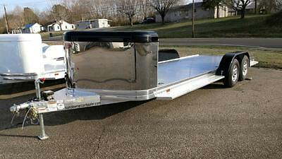 2017 Sundowner 22' All Aluminum Open Car Stainless Enclosed Nose Guard