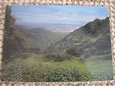 Sultanate Of Oman Dhofar Mountains Postcard Middle East Unused And Unstamped