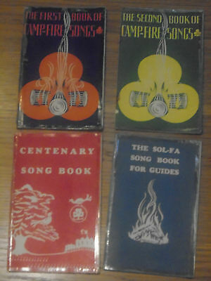 Camp Fire Song Books- 1967