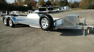 2017 Sundowner 22' All Aluminum Open Car Trailer with Spare