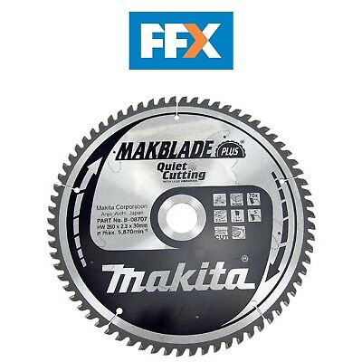 Makita B-08707 260mm x 30mm x 70T Makblade Plus Mitre Saw Blade