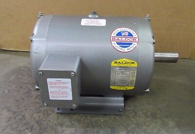 Baldor M3311T Electric Motor 7.5 7-1/2Hp 208-230/460V 1725 Rpm 3 Phase