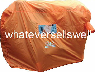 2-3 PERSON Hi vis GROUP MOUNTAIN BOTHY EMERGENCY SURVIVAL SHELTER waterproof