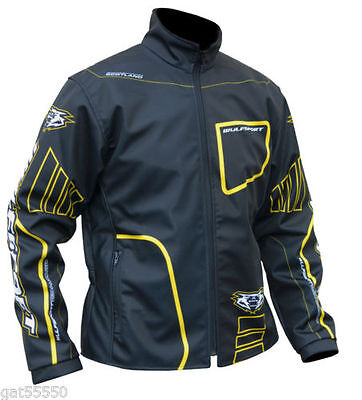 New Wulfsport Yellow Trials Jacket Montesa Suzuki Sherco Swm Txt Ty Enduro