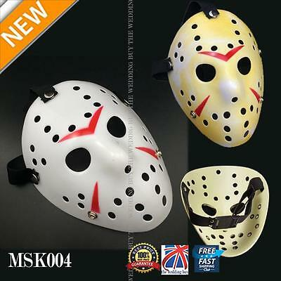 Jason Voorhees Scary Mask prop hockey Halloween Creepy MASK Friday13th MSK004