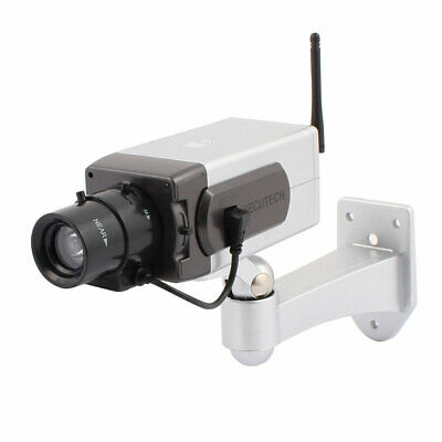 Wireless Dummy Security Camera Fake Surveillance Motion Sensor Detector
