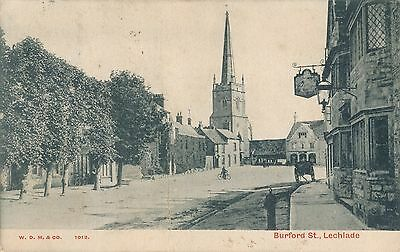 POSTCARD  GLOUCESTERSHIRE  LECHLADE   Burford  St