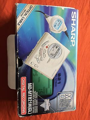 Sharp MD-MT821H(GL) Minidisc Recorder (no charger)