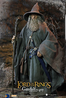 Asmus Toys The Lord Of The Rings  Gandalf El Gris No Hot Toys 1/6