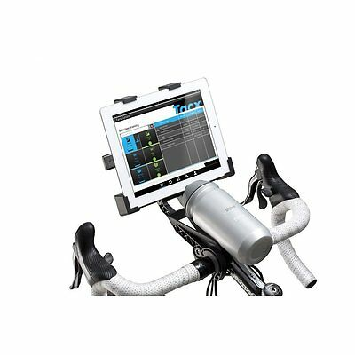 Tacx Handlebar Bike Mount for iPad and Tablets - For Turbo Trainer Use T2092