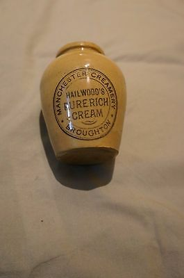 Old cream pot - Hailwood's Manchester Creamery