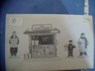 Department 56   City News Stand  Lot B