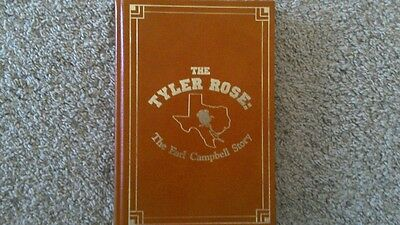 Earl Campbell Signed Edition Tyler Rose The Earl Campbell Story #828