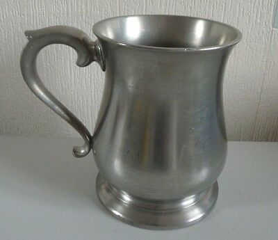 Compton Cast Pewter pint tankard-excellent condition-not engraved