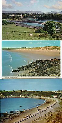 ANGLESEY postcards ( 3)