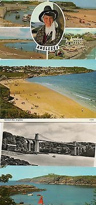 ANGLESEY postcards ( 4)