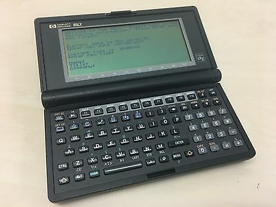 Hewlett Packard HP95LX Calculator PDA Palmtop Vintage Handheld PC 95LX Computer