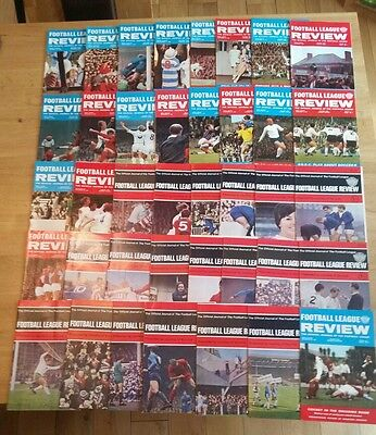 Complete Set of Volume 2 & 3 Football League Reviews