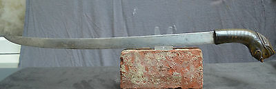 Antique and good quality Golok sword W. Java Indonesia, keris.