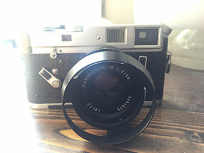 Leica M4 with summicron 50mm f/2 lens