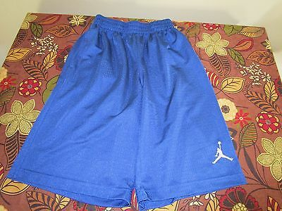 boys size M (10-12) Jordan shorts blue