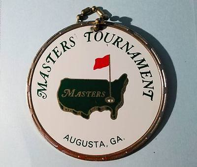 MASTERS CONTESTANT METAL BAG TAG OF The 1972 Masters Tournament See Notes