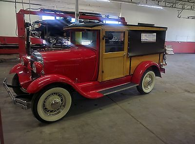 1929 Ford Model A  1929 Ford Model A Woody Fully Restored