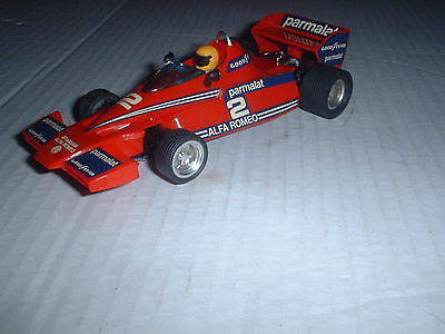 EXIN SPANISH Scalextric REF No 4056 BRABHAM BT-46 RED LIVERY  CAR EXC COND