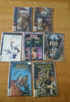 DC Vertigo  The Childrens crusade #1-2 + 5 related Vertigo annuals Gaiman 1993
