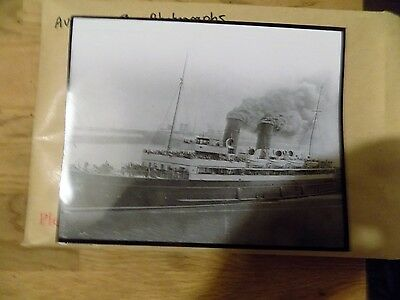 Unknown Steamer Large Photograph