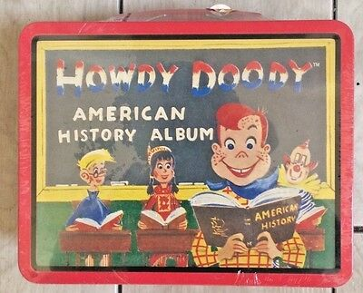 Niw Sealed Howdy Doody Lunch Box New