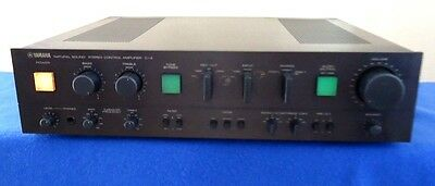 YAMAHA C-4  Preamplifier  W/ MM & MC Phono, See Video !