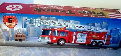 Texaco 1:35 Scale Aerial Tower Fire Truck Model  95th Anniversary Edition!!