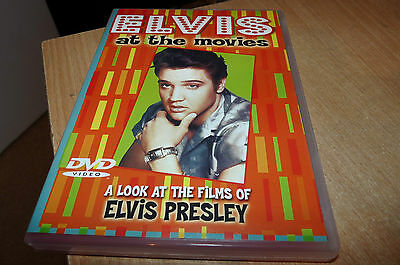 Elvis At The Movies - 2002 Dvd - 75 Minutes - Post Free - Silly Cheap!