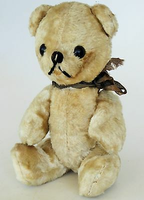 "Steiff 50's Teddy Bear Jointed Movable Legs Arms  7"" Tall No Reserve"