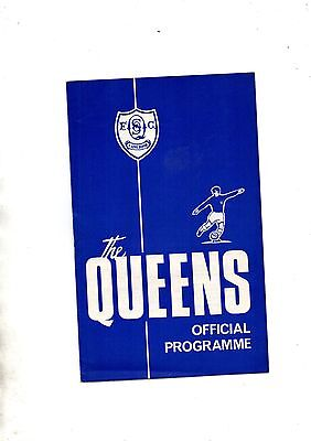 QUEEN OF THE SOUTH v AIRDRIEONIANS  1966/7.Scottish League Cup.