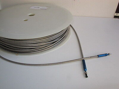 Polymicro FVA100010501250 1000um MM  High -OH Optical Cable - SS Tube - 30m Reel