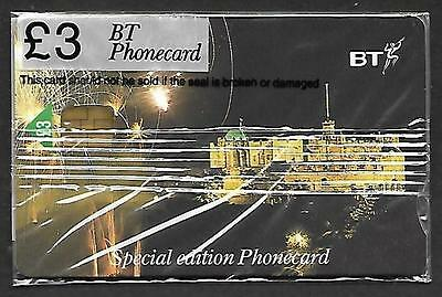 Pro427 Edinburgh Castle Mint Sealed £3 Bt Chip Phonecard