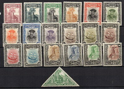 Stamps Nyassa Sel. Company issues mint hinged