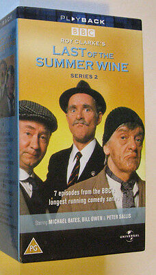 Last of the Summer Wine Series 2 VHS