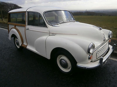 Morris Minor Traveller  1960  Old English white  2 Former keepers  84,000 miles