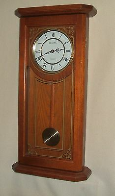 Bulova Wall Clock with Westminster Chimes Model C-3375, Great Condition!