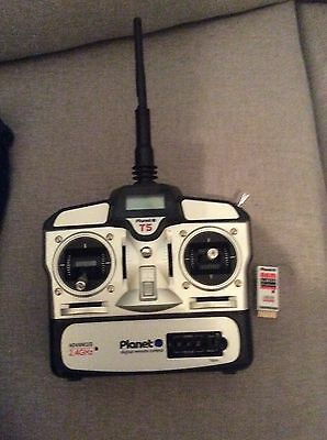 Planet 2.4 GHz Radio Control Transmitter And Recover