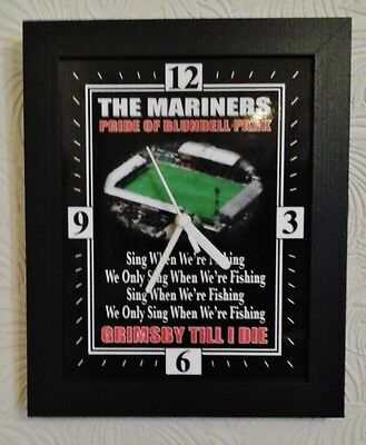 Grimsby Town FC. The Mariners Wall Clock