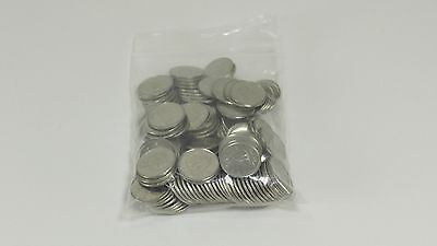 Lot of 133 Canadian Dimes