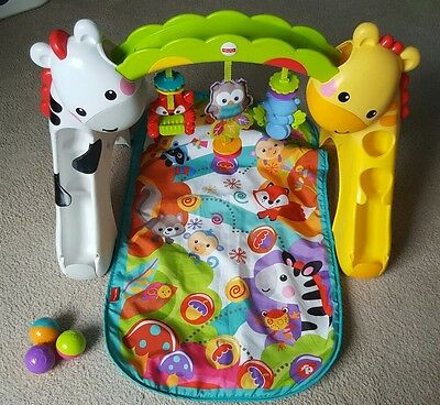 Fisher Price Newborn to Toddler play gym. Activity Arch. Play mat